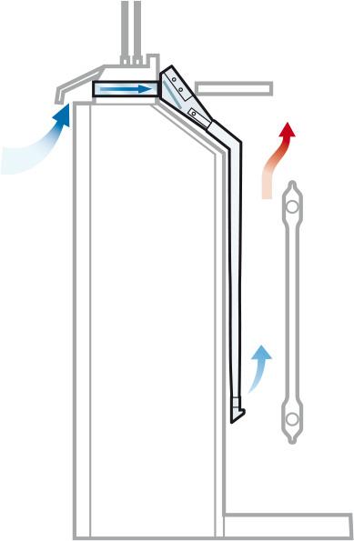 Flexi-Befintlig spaltventil i fönsterkarm - Easy-Vent ROT luftdon ...